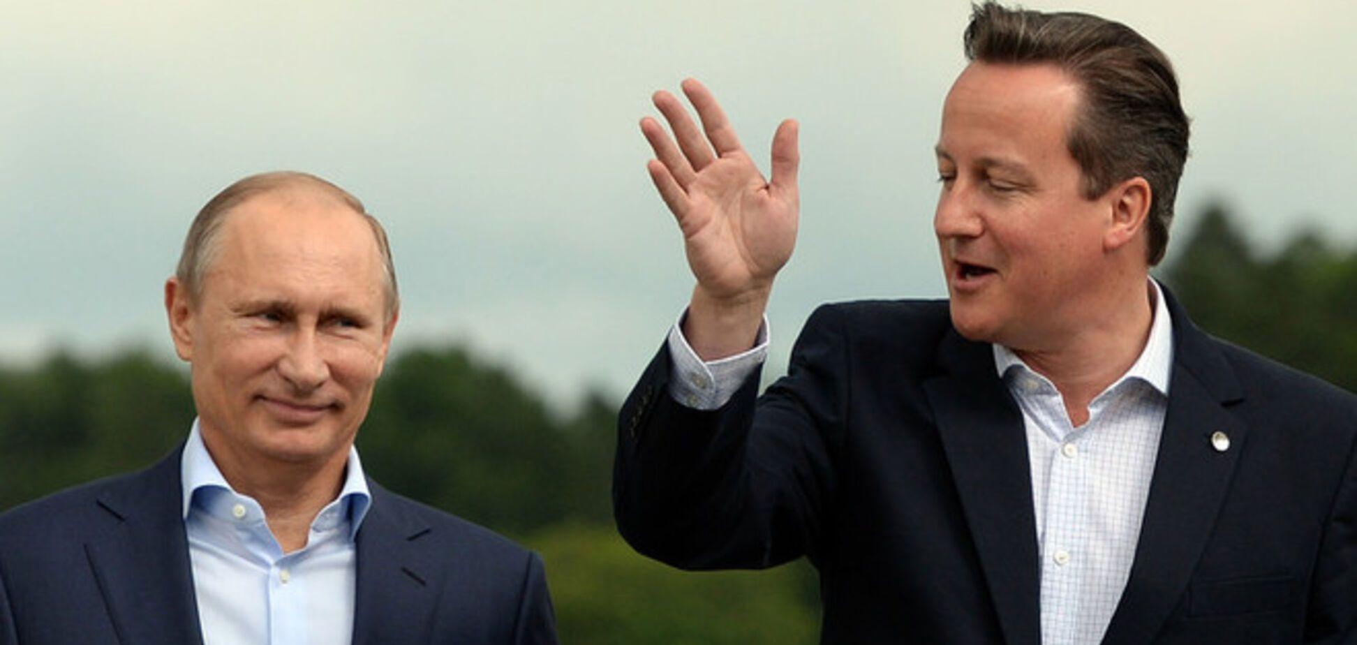 Путин и Кэмерон начали встречу по Украине без рукопожатия