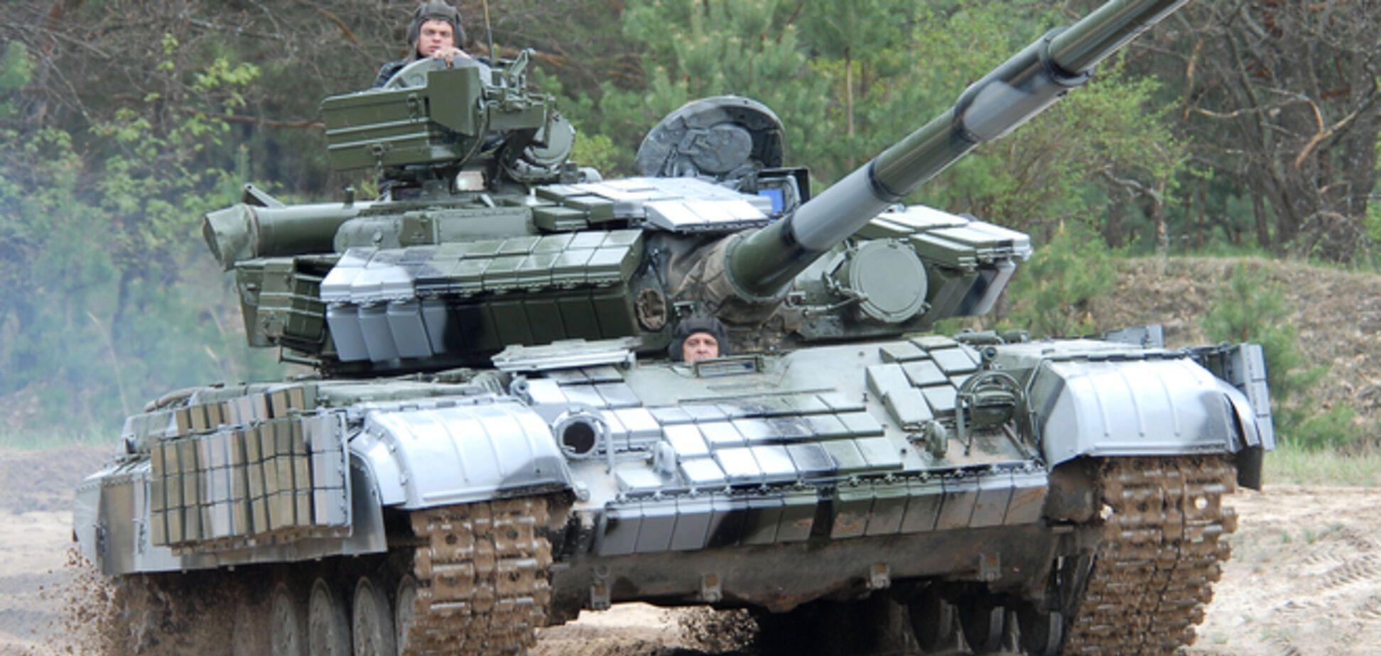 Танки Т-64 підключилися в АТО під Слов'янськом