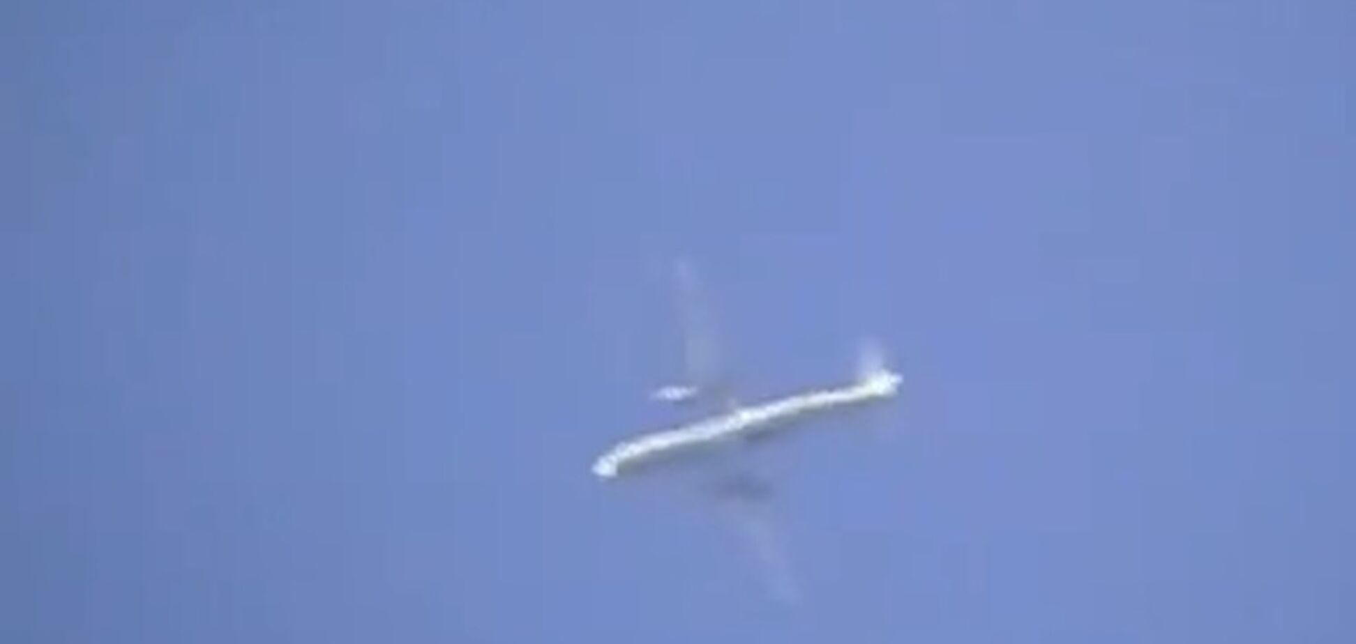 Террористы под Славянском сбили разведывательный самолет