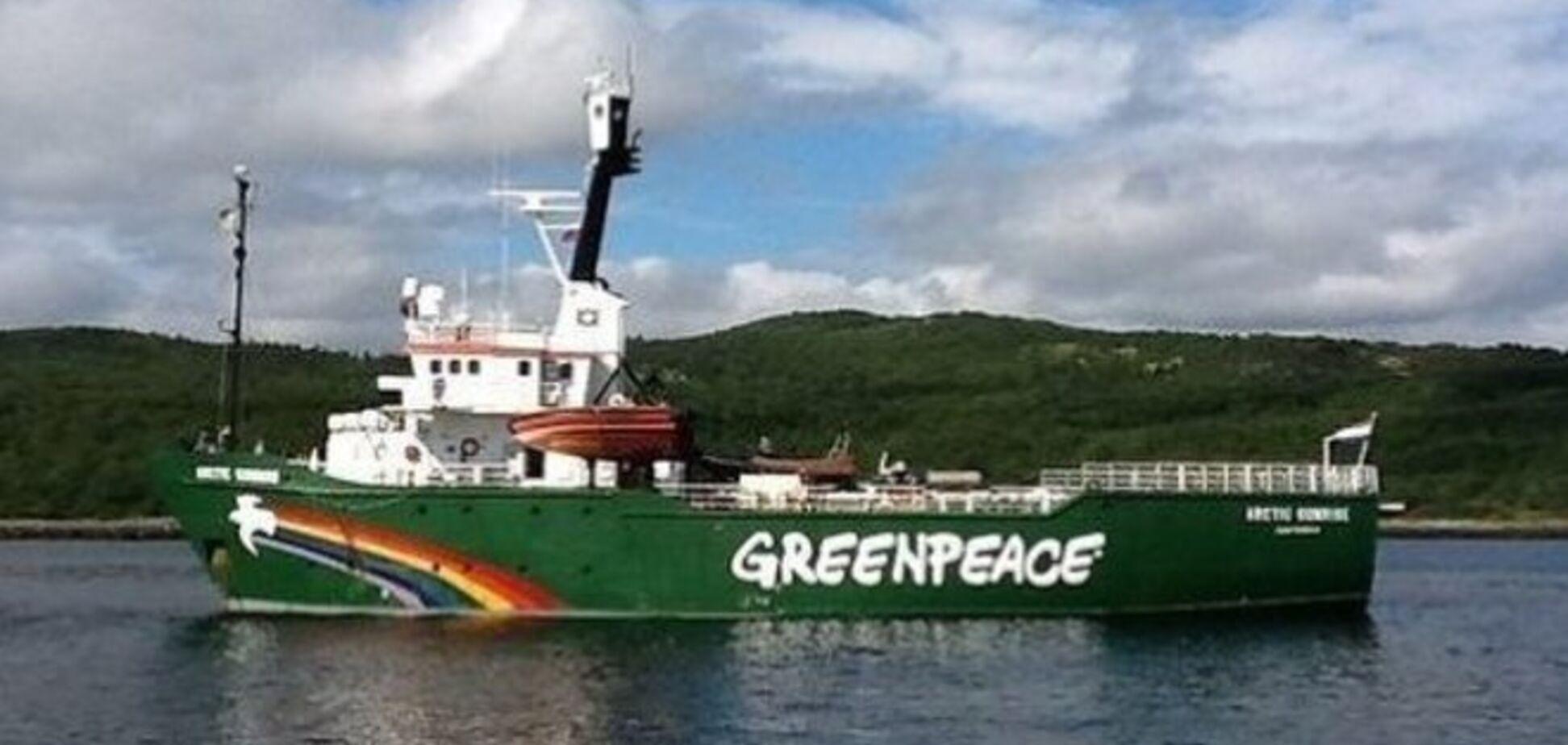 Росія повернула Greenpeace захоплене судно