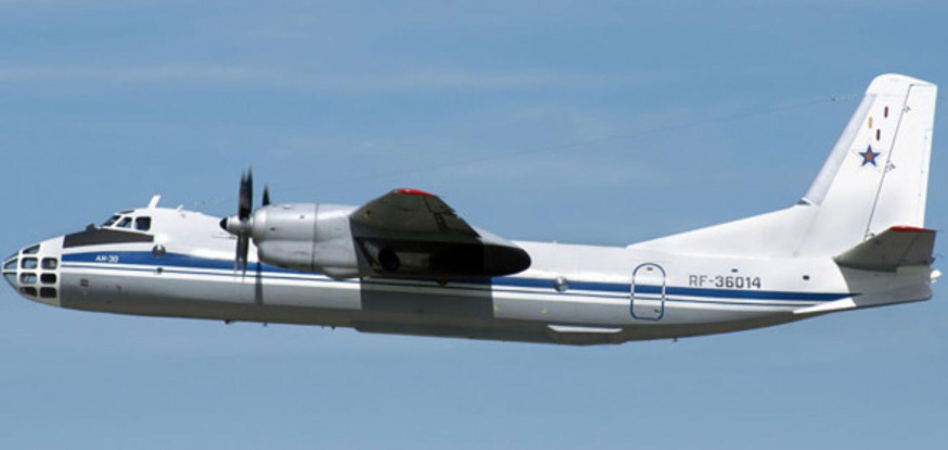 Сбитый под Славянском самолет вез гуманитарную помощь