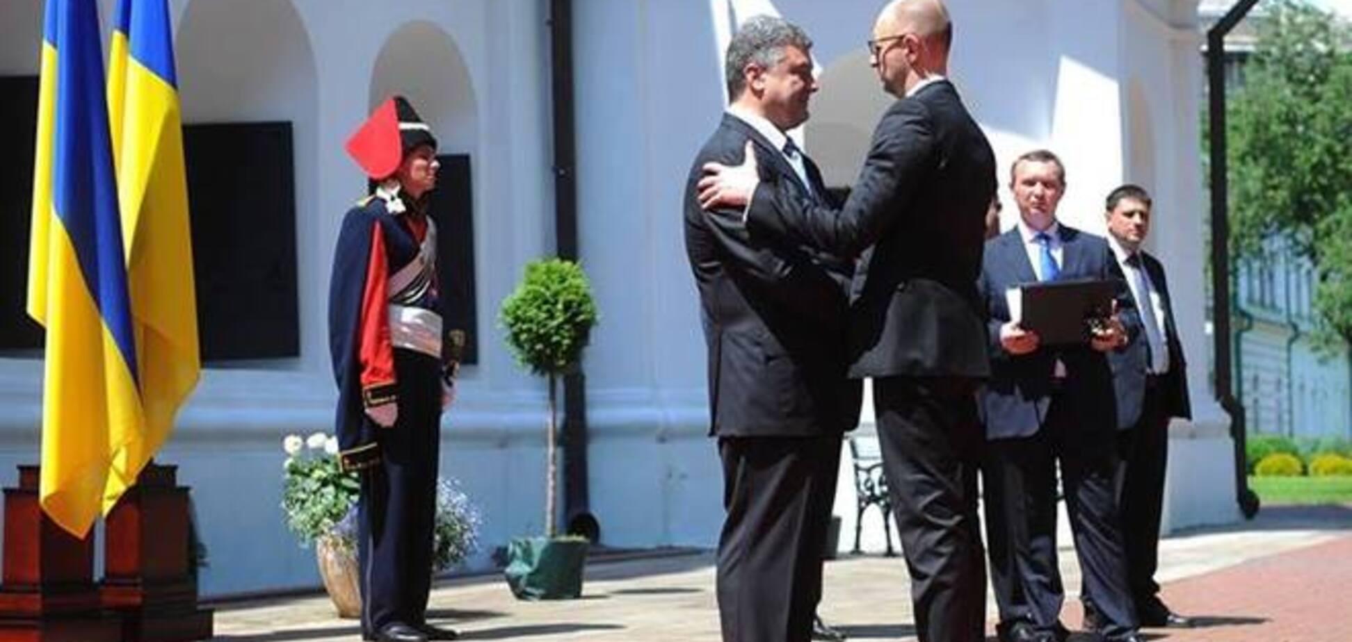 Яценюк: Президент, Рада і уряд будуть діяти як одне ціле