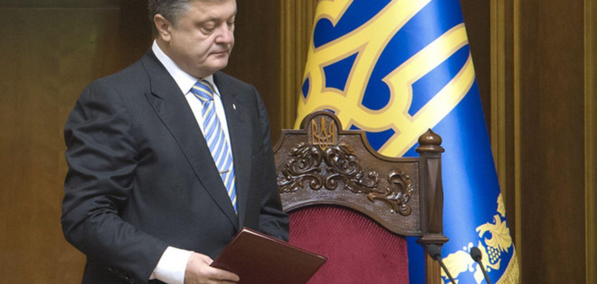 Порошенко приступил к работе на посту Президента