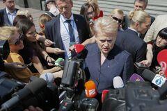 Президент Литвы рассчитывает, что Порошенко можно доверять