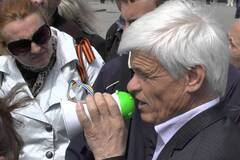 В Харькове протестовали против инаугурации Порошенко