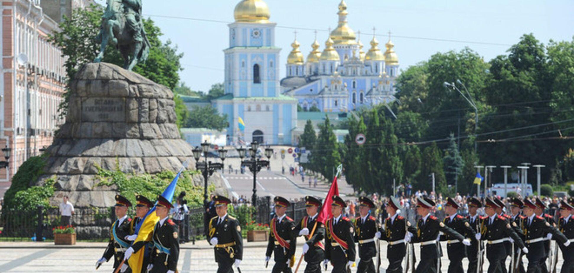 Інавгурацію Президента України охороняли півтисячі Нацгвардійцев