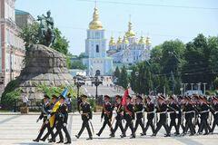 Инаугурацию Президента Украины охраняли полтысячи Нацгвардийцев