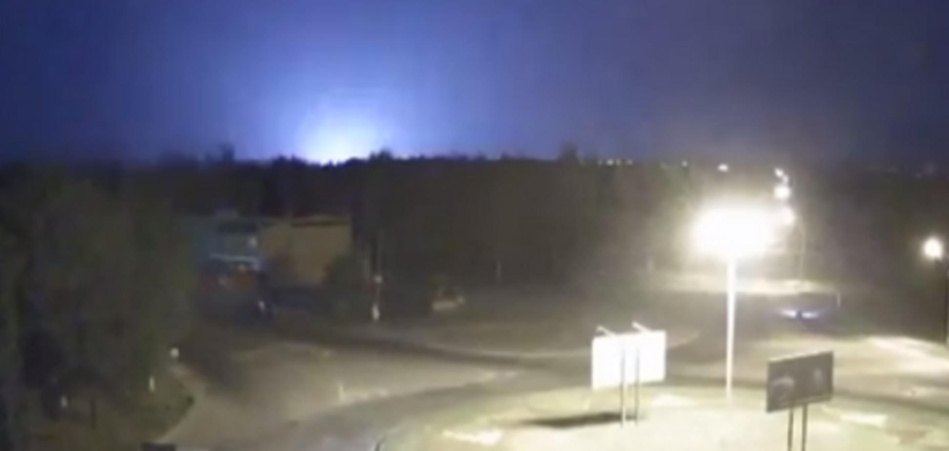 В Луганске ночью произошел взрыв в районе аэропорта