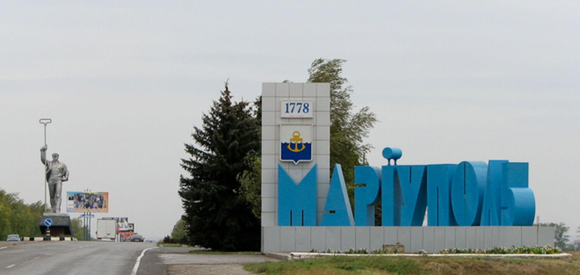 В Мариуполе горят воинская часть и аэропорт - очевидцы
