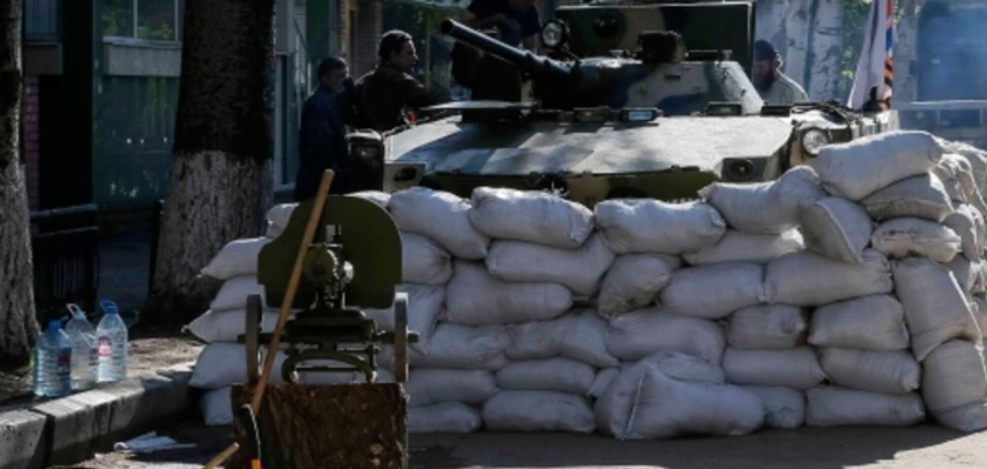 Ночь в Донецке прошла спокойно, но появился новый блокпост