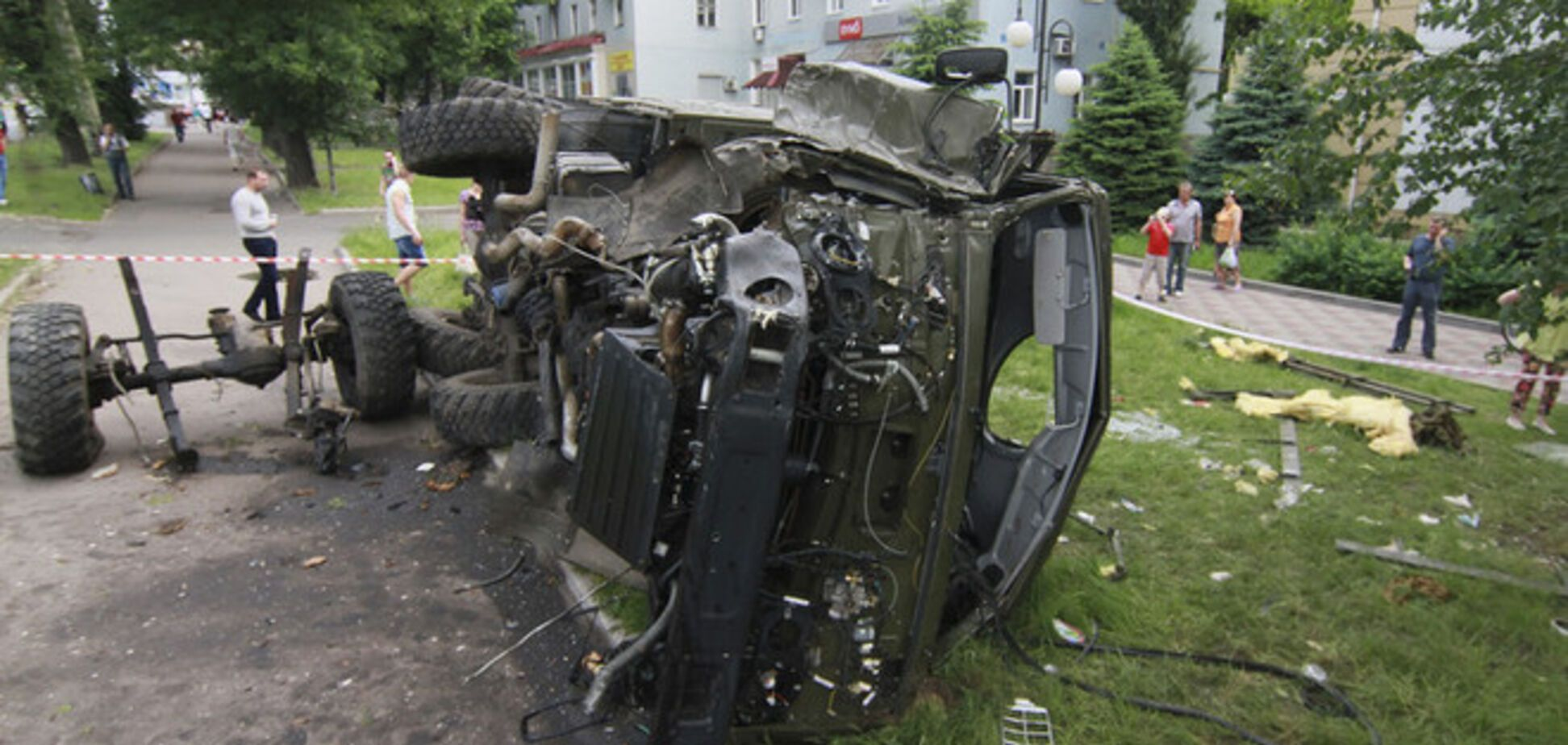 Штаб АТО подтверждает нападение террористов на воинскую часть в Артемовске