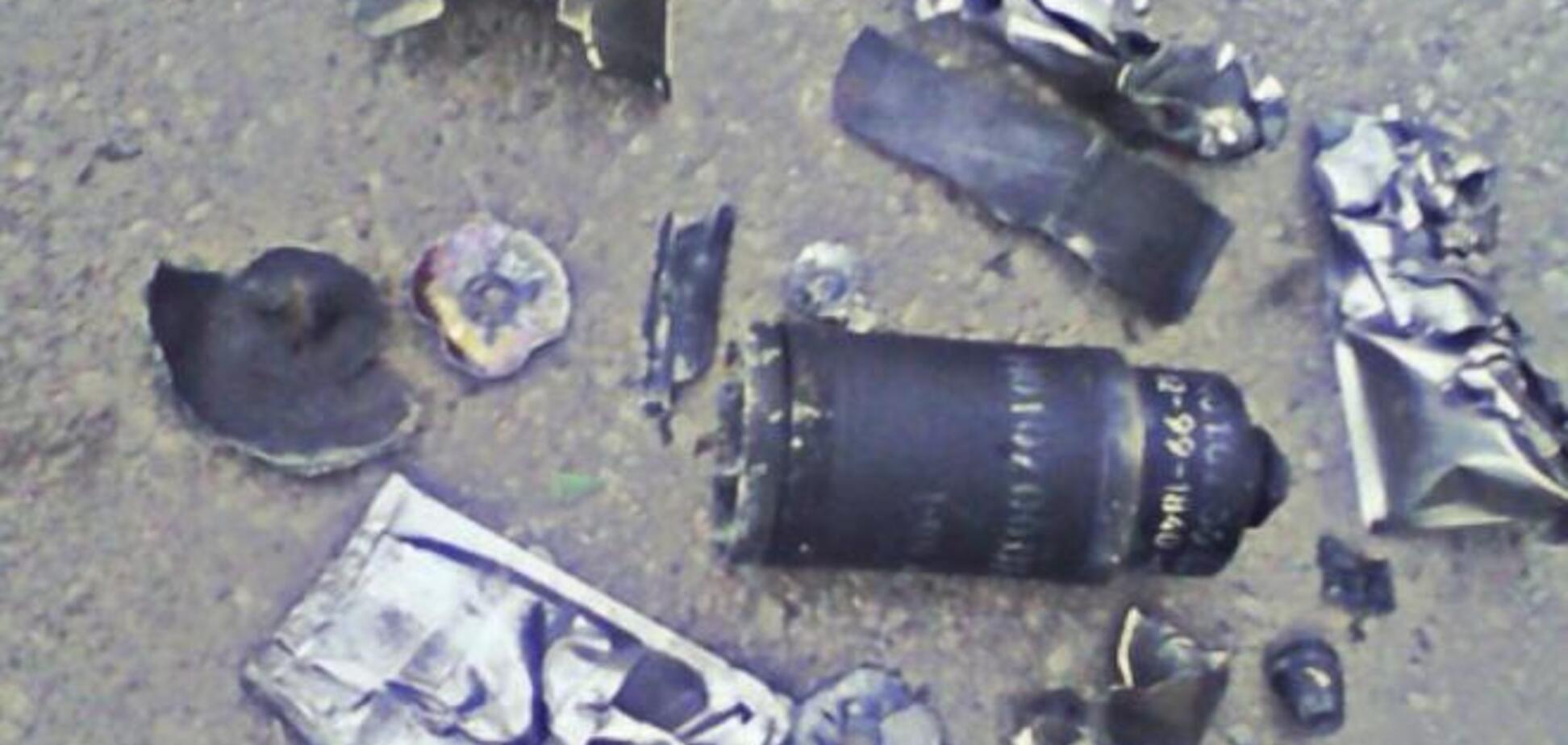 Террористы обстреливали аэропорт противотанковыми ракетами. Фотофакт
