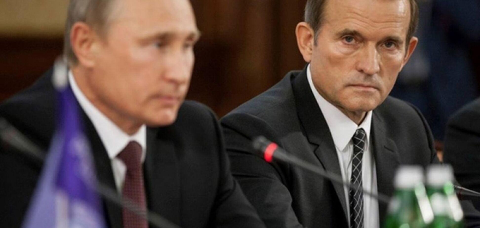 У сім'ї Медведчука табу на публічне обговорення його кумівства з Путіним