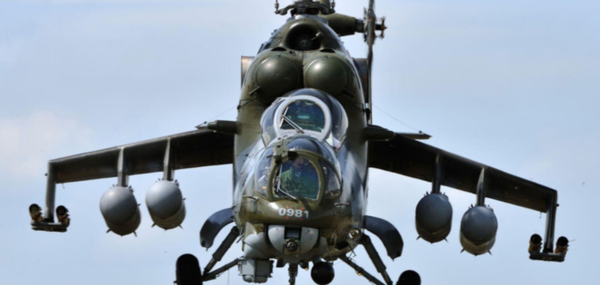 Шесть российских вертолетов вторглись в Украину