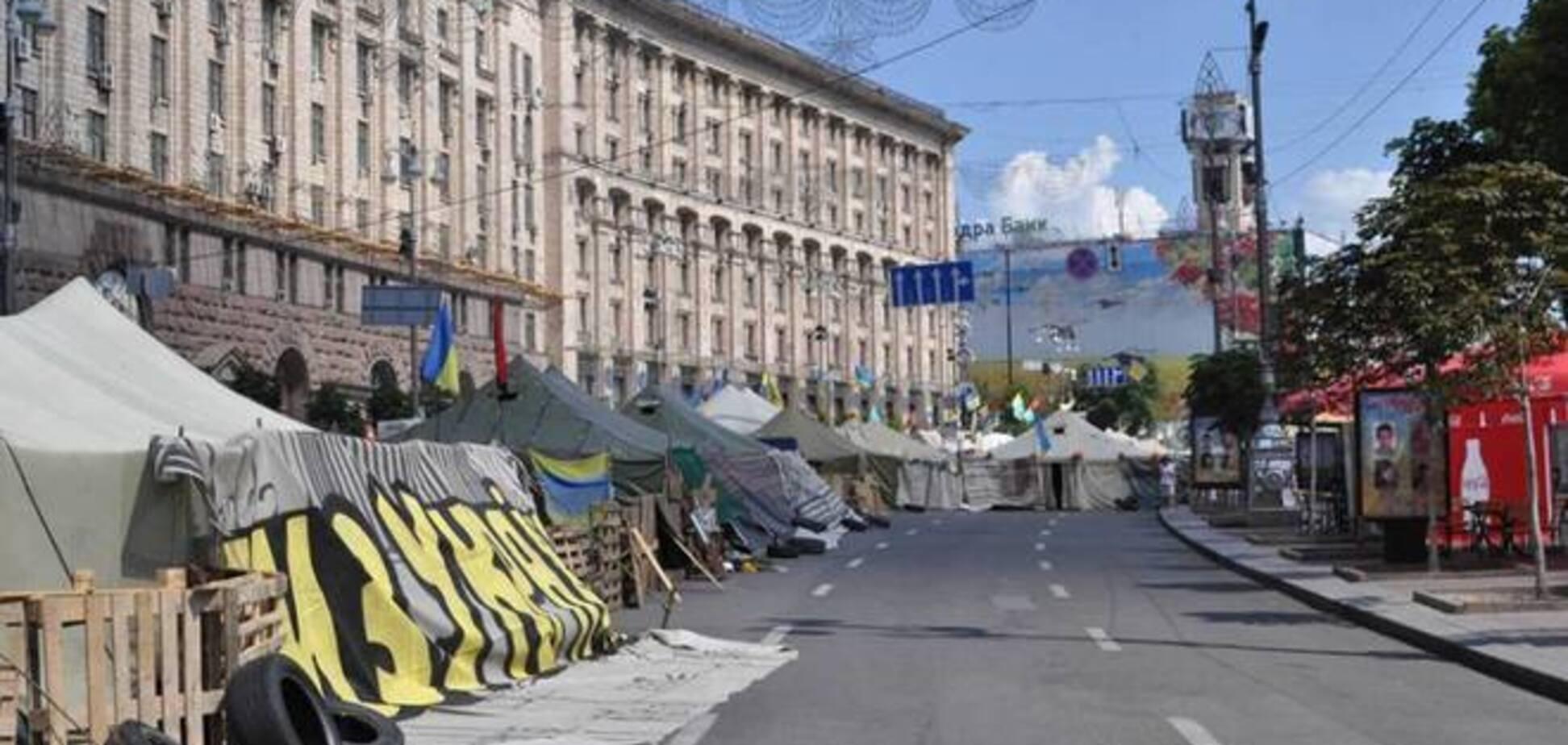 Прокурор Киева потребовал от Кличко навести порядок на Майдане
