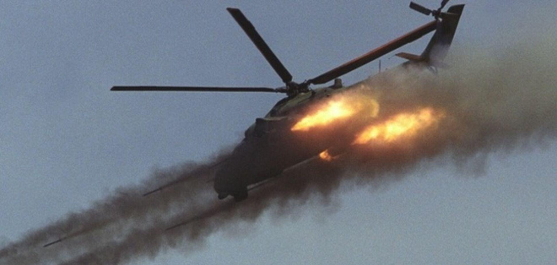 У силовиков 'свистнули' 24 боевых вертолета