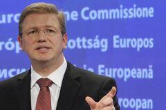 Фюле заявив, що нинішній статус Криму - тимчасове явище