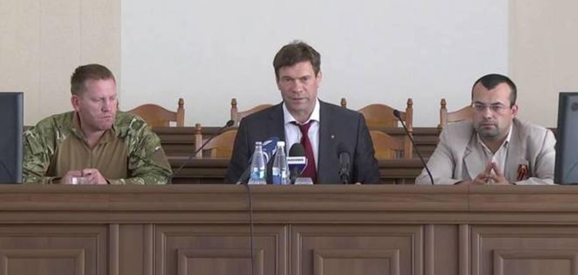 Царев похвастался созданием 'легитимного государства Новороссия'