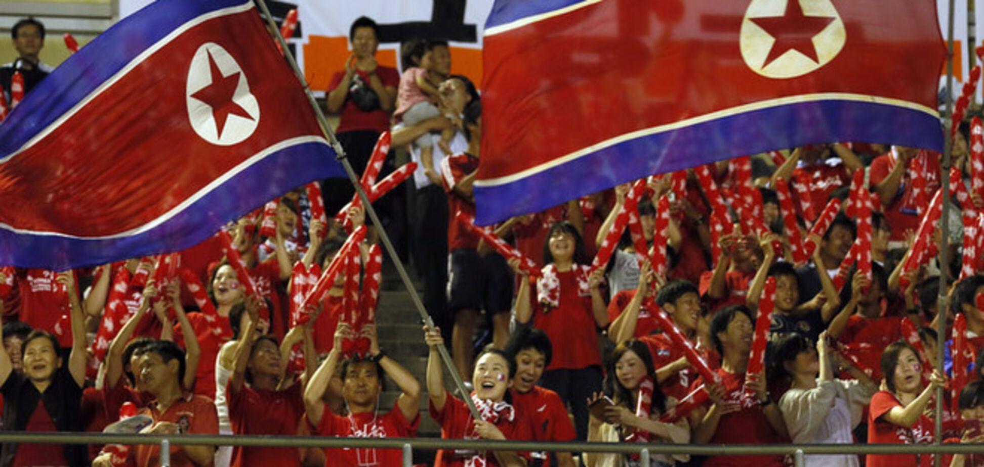 Сборную КНДР поздравили с 'победой' на ЧМ-2014