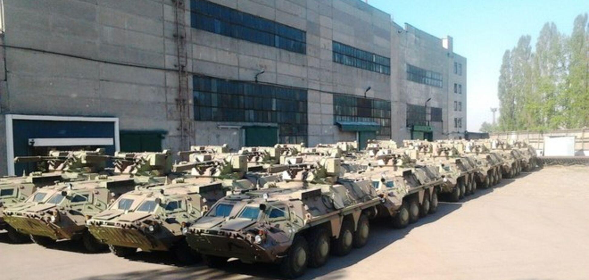 На заводе под Житомиром вывели из строя почти 80 БТРов