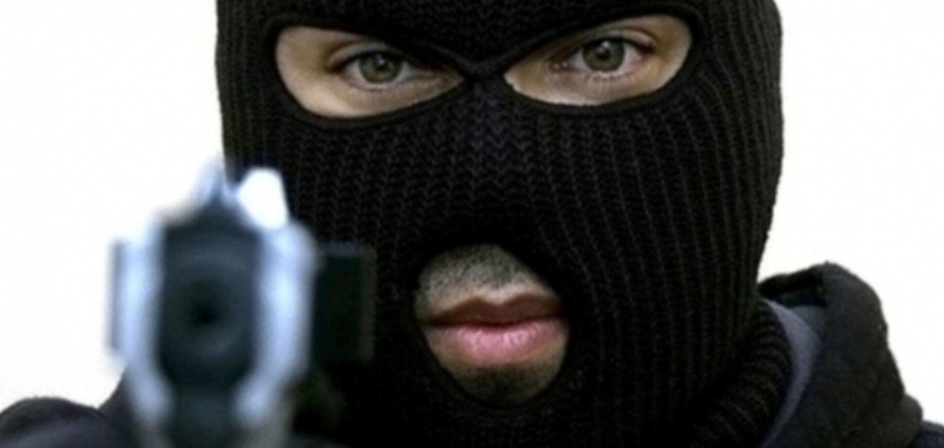 В центре Киева ограбили банк