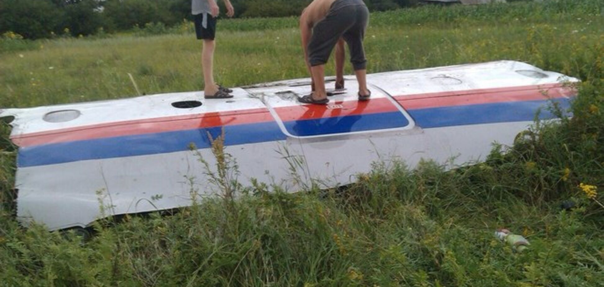 Над Донбассом сбит Boeing-777 малайзийских авиалиний