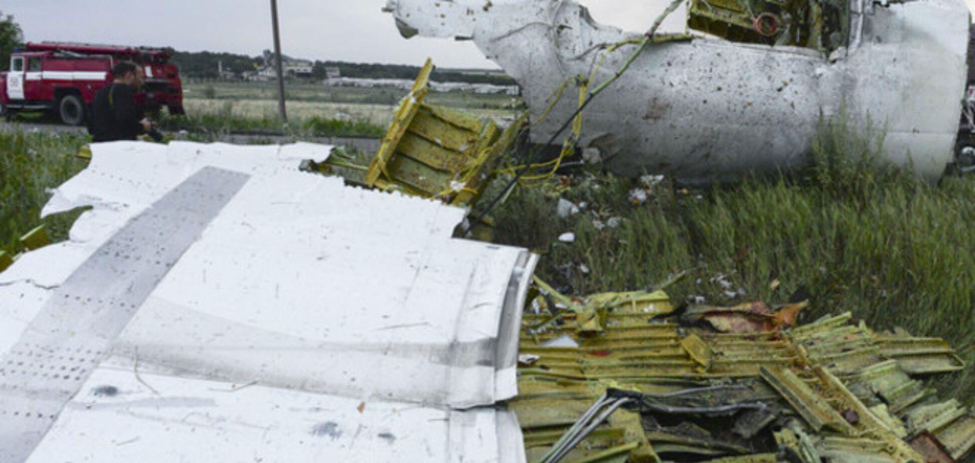 Крушение пассажирского самолета Boeing-777 на Донбассе