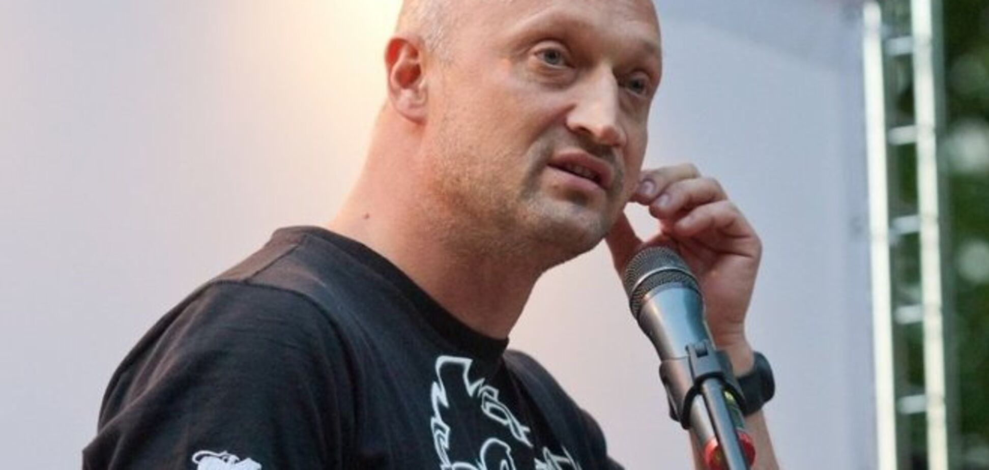 Гоша Куценко попал в ДТП в центре Москвы