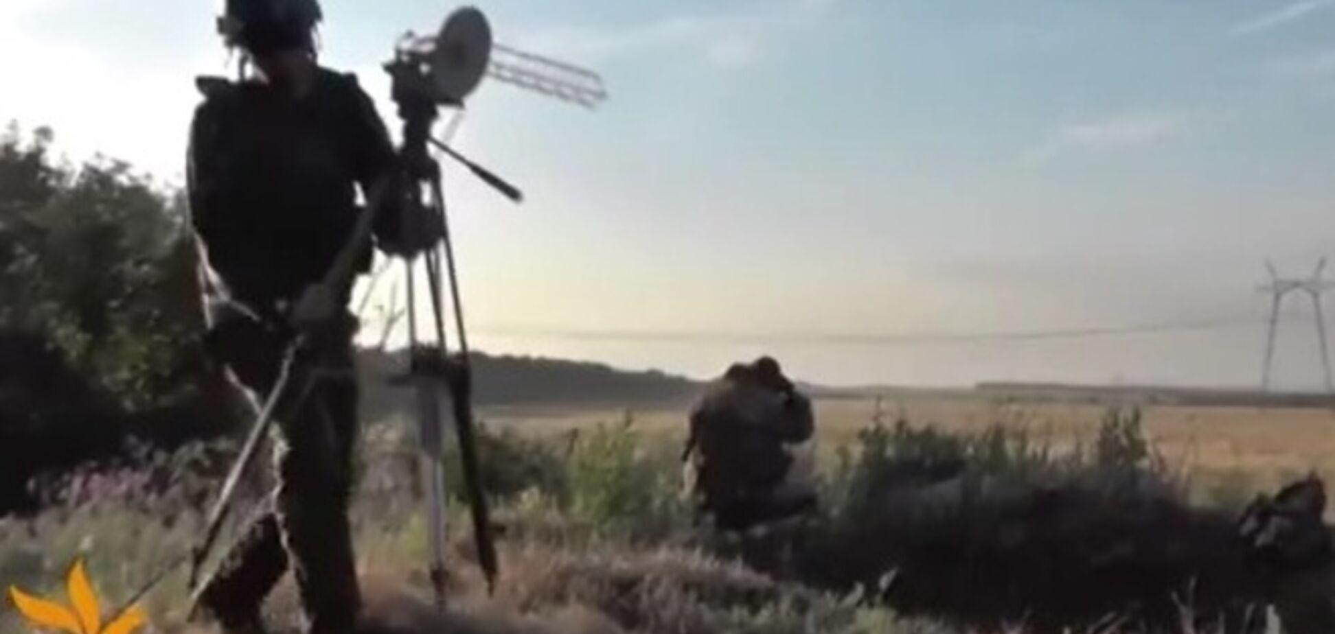 Бойцы батальона 'Донбасс' уничтожили с помощью беспилотников два танка