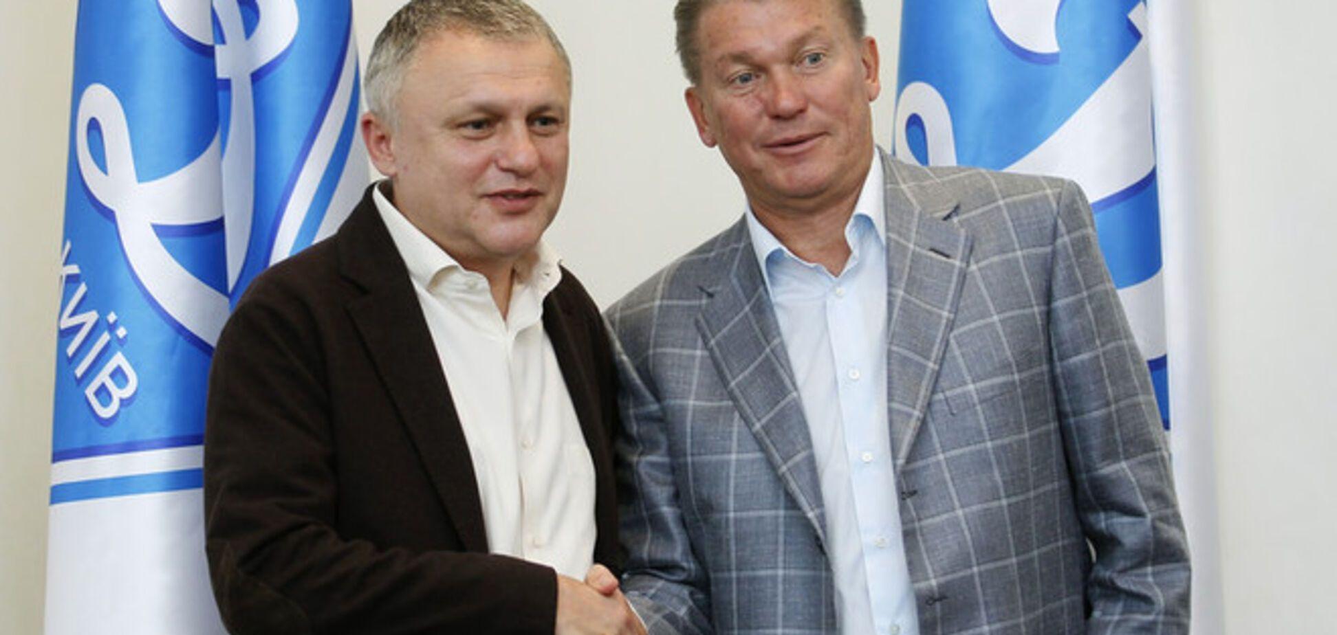Блохин требует от 'Динамо' почти 4 млн евро