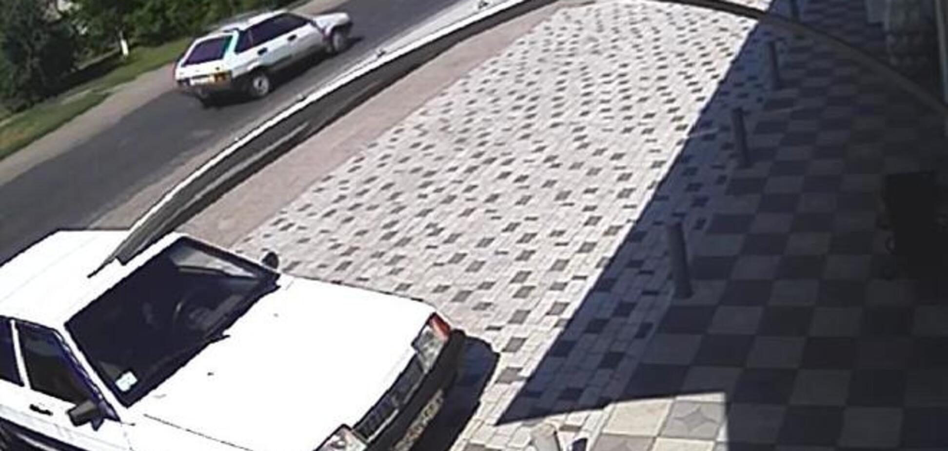 Міліція показала автомобіль вбивць мера Кременчука