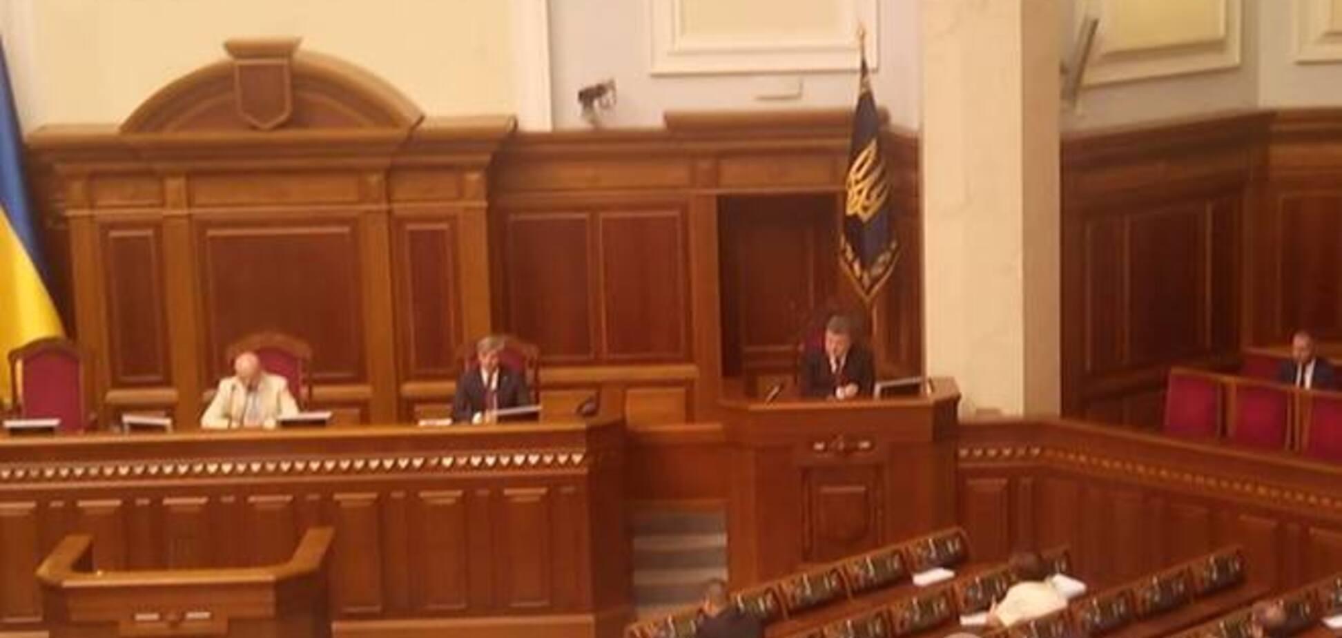 'За' отставку Яценюка проголосовали Бондаренко, Левченко и 14 внефракционных нардепов