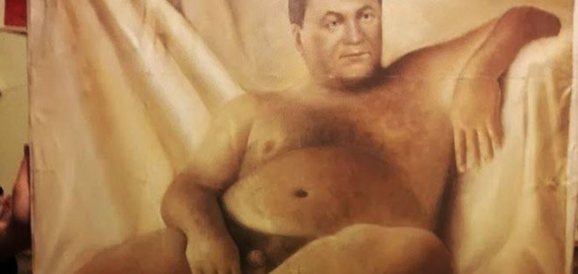Картины голого Путина и Януковича никто не хочет покупать за $20 тыс