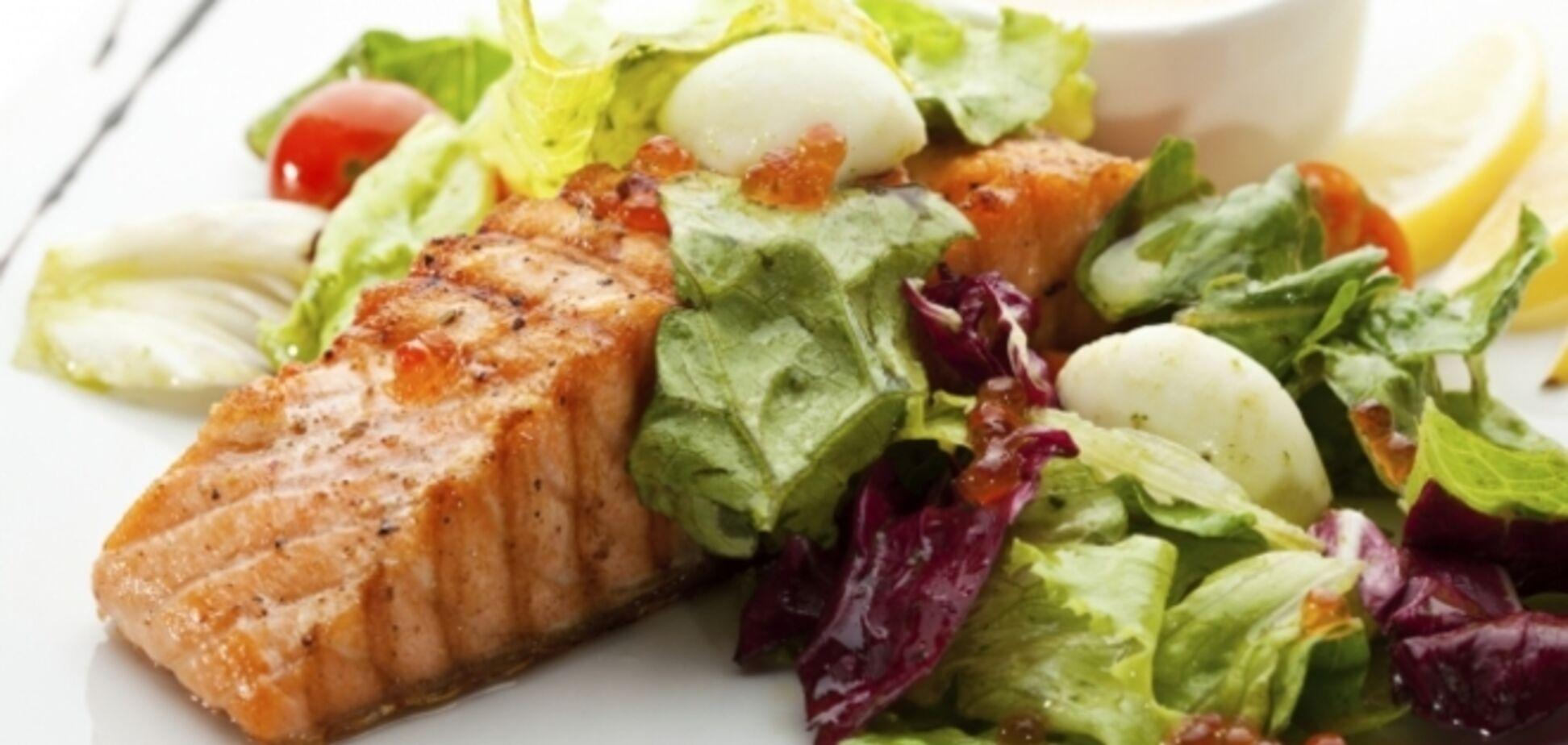 Запеченный лосось с овощами от Джейми Оливера