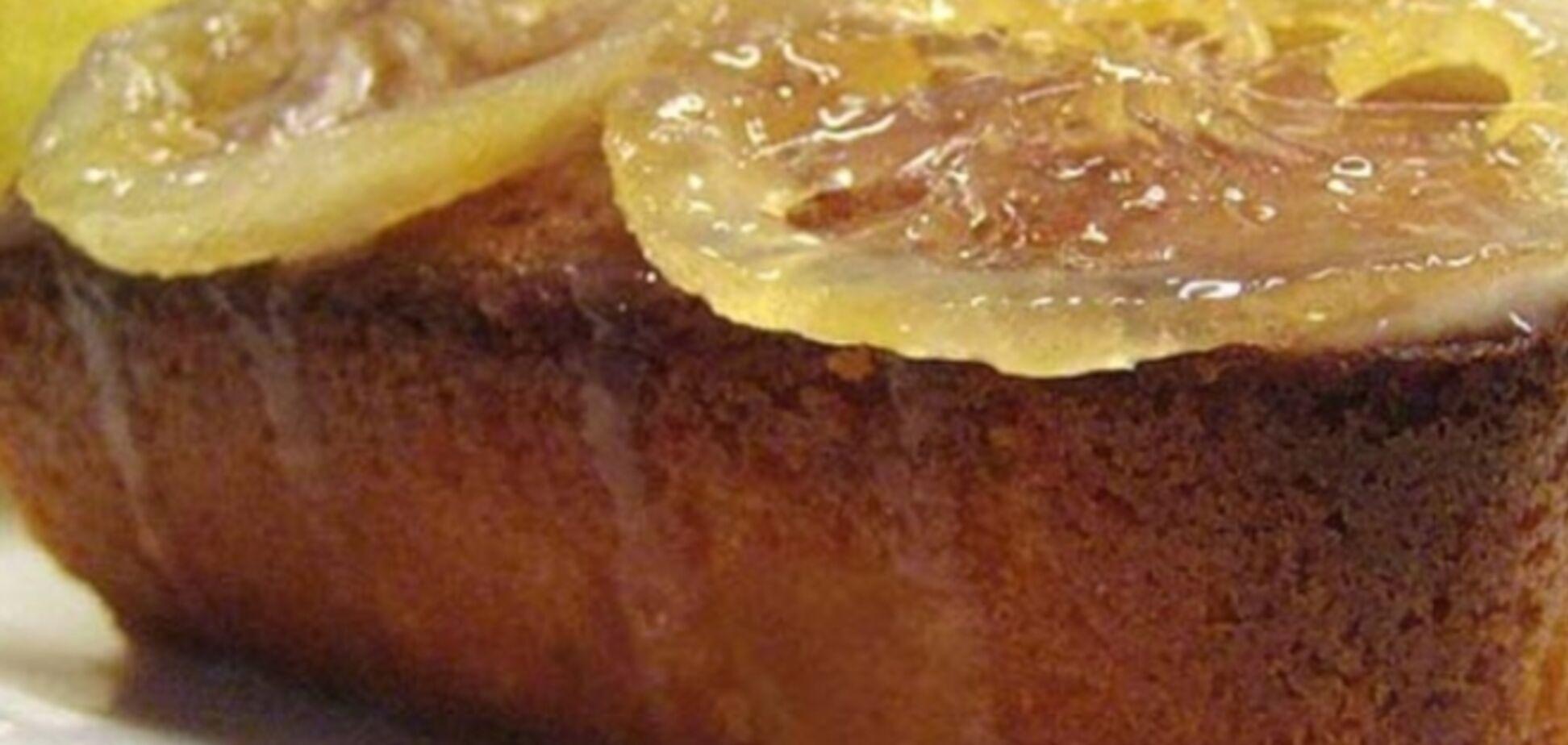 Лимонный паундкейк