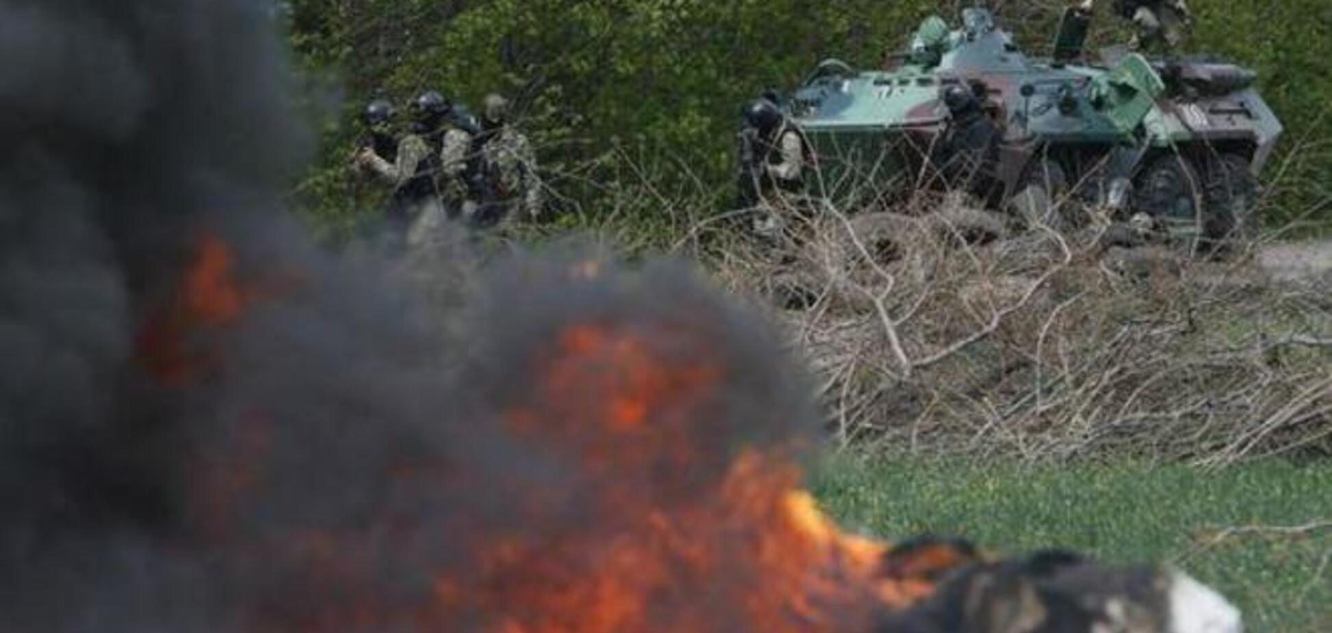 Колонна террористов прорвалась в Краматорск