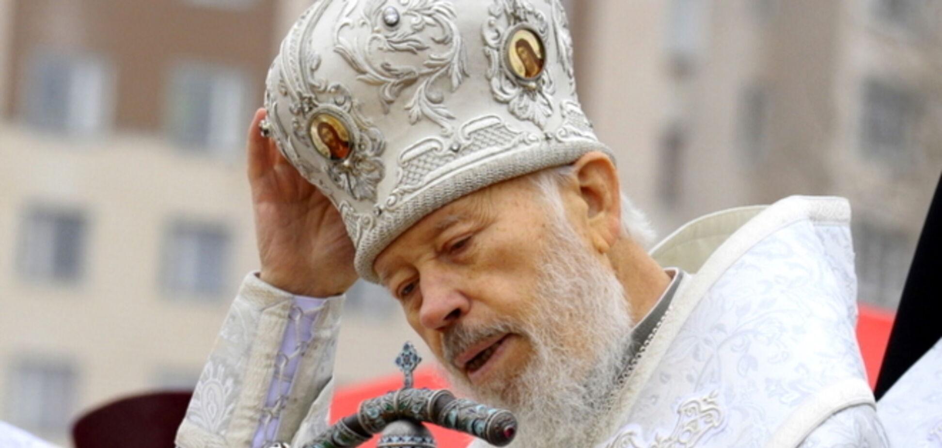 Вселенський патріарх співчуває українцям у зв'язку зі смертю митрополита Володимира