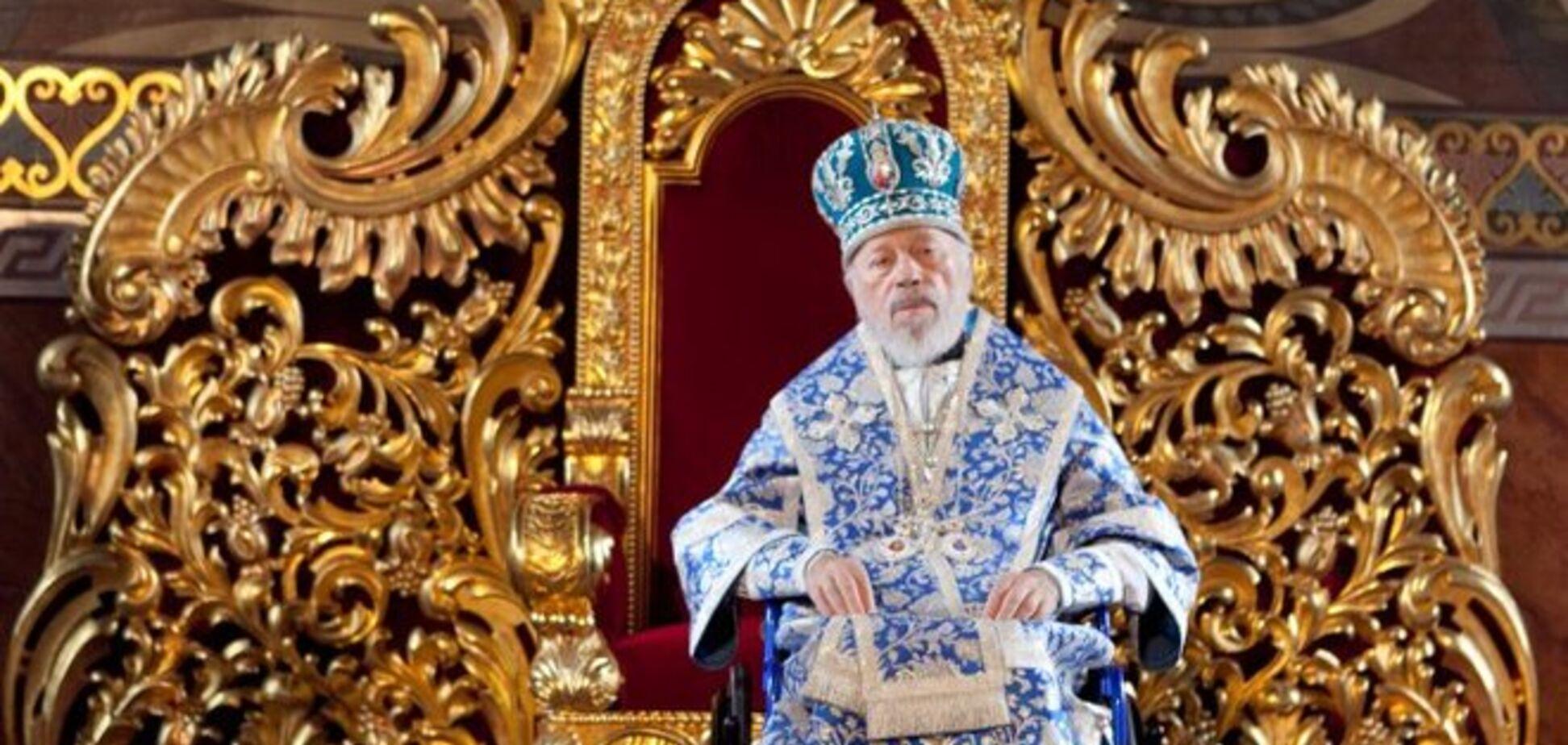 Назвали двух возможных преемников митрополита Владимира