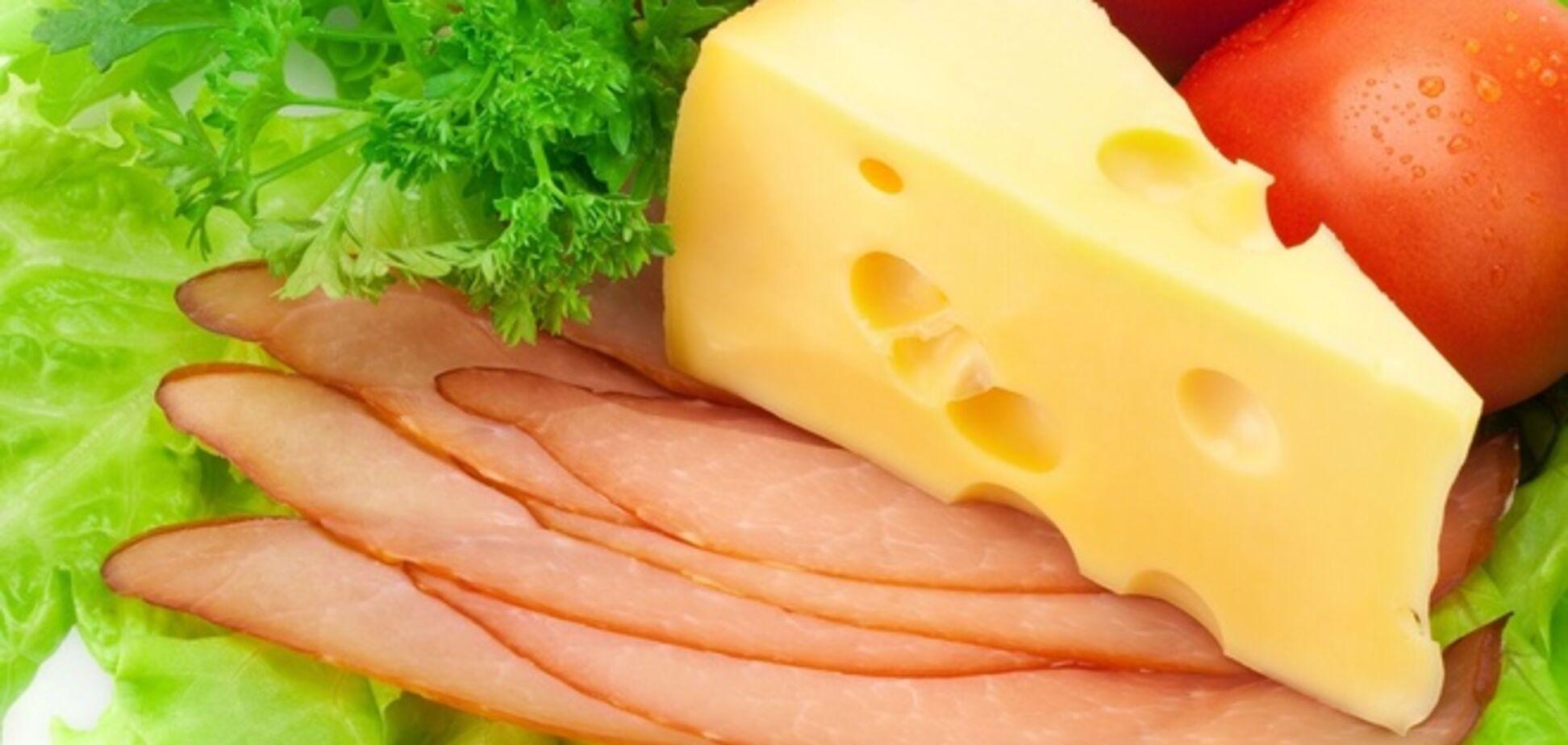 Россия забраковала украинское мясо и сыр