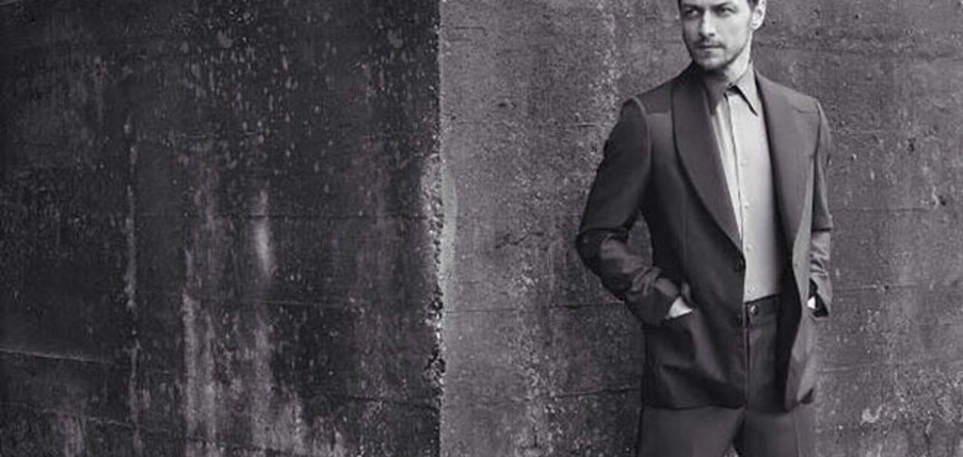 Джеймс МакЭвой в брутальном образе для Prada