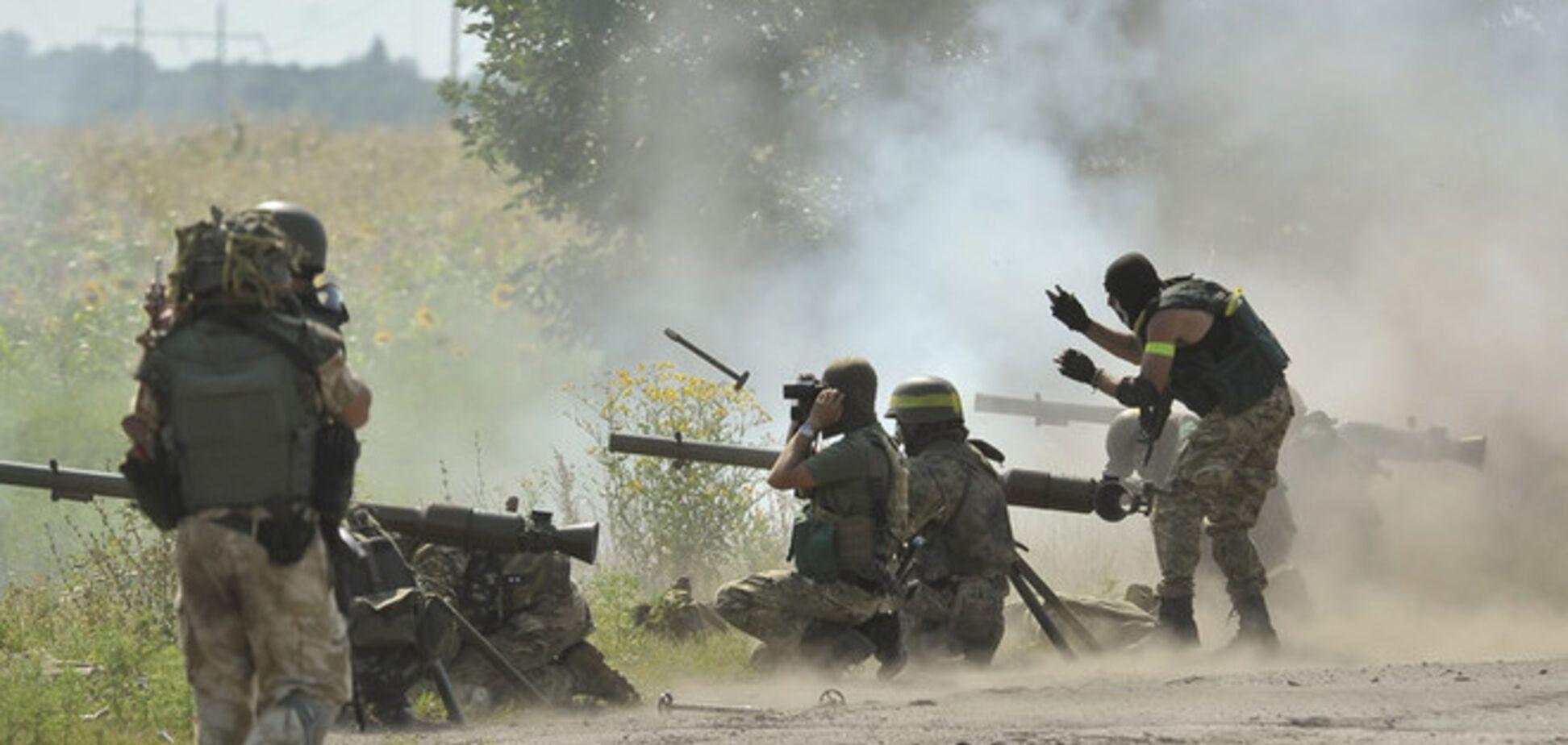Бої за Первомайськ. Фоторепортаж