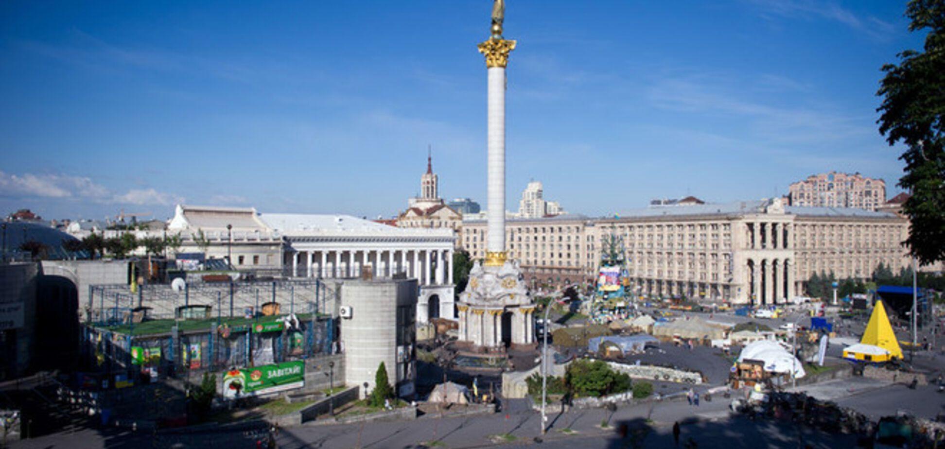 Судьбу Майдана решат результаты открытого международного конкурса