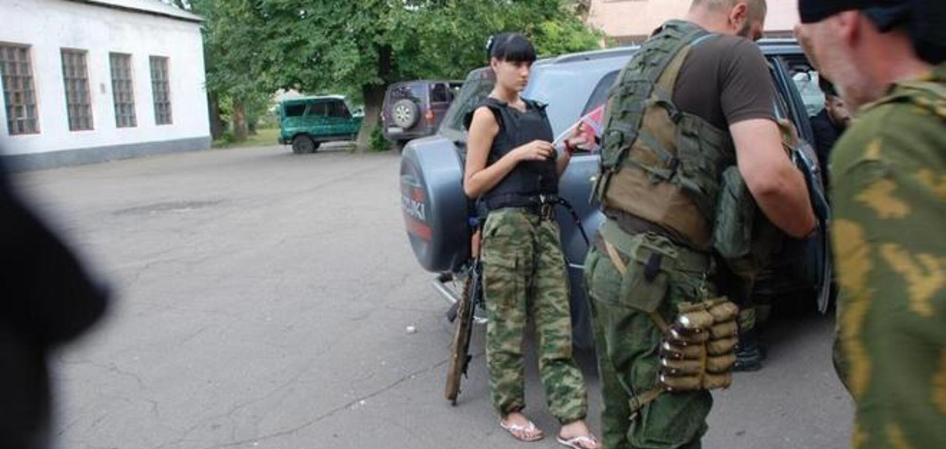 Дружина бойовика Мотороли пішла воювати разом з коханим