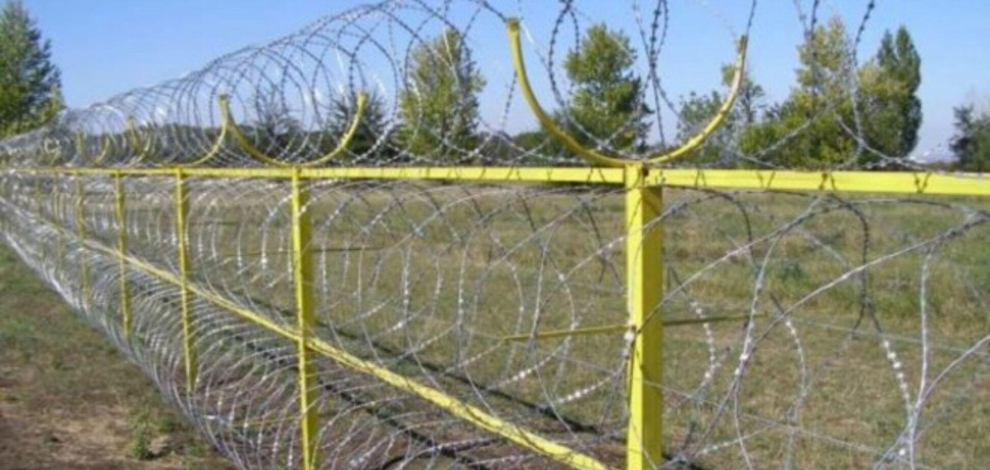 США укрепят границу Украины колючей проволокой