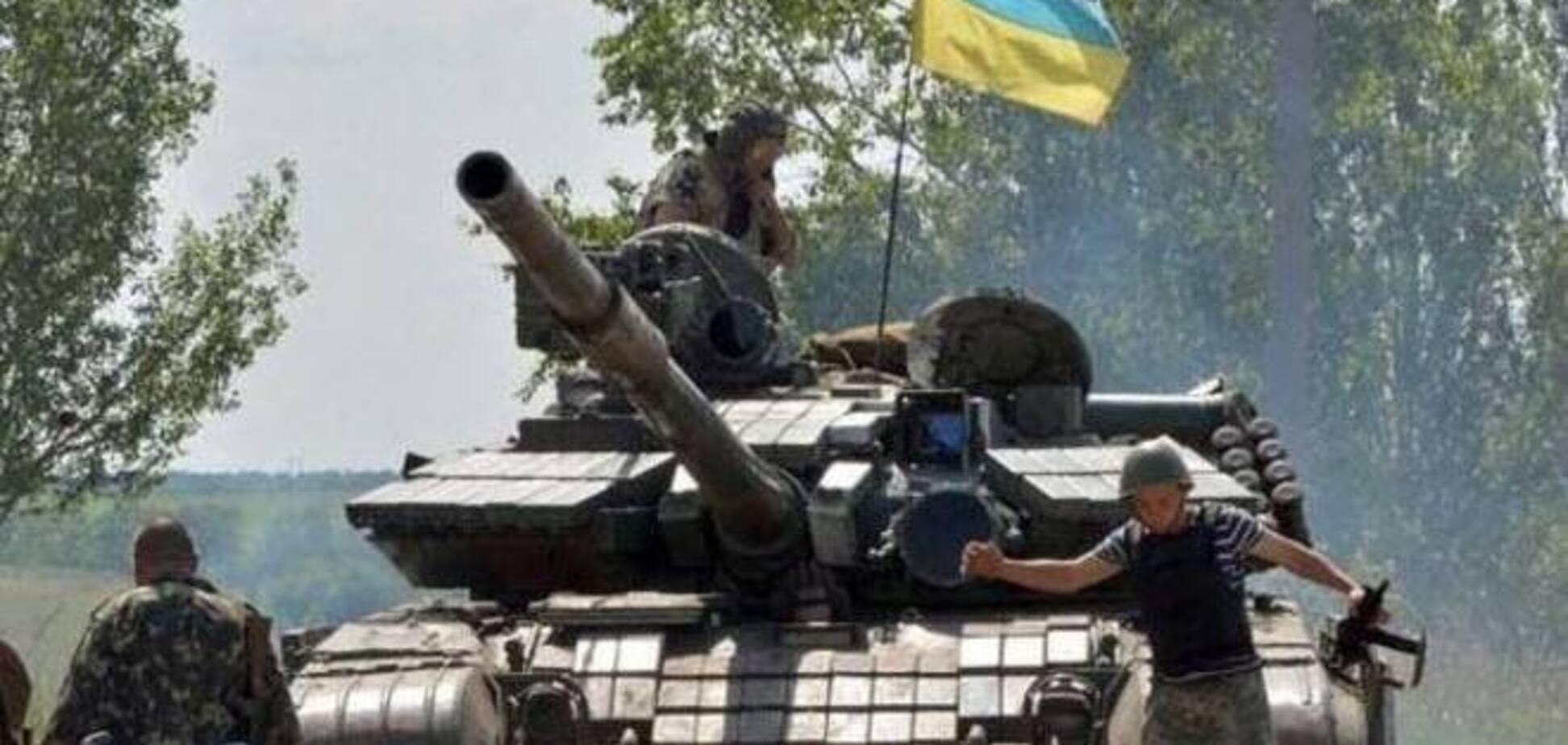 Украинские военные взяли под контроль Ясиноватую