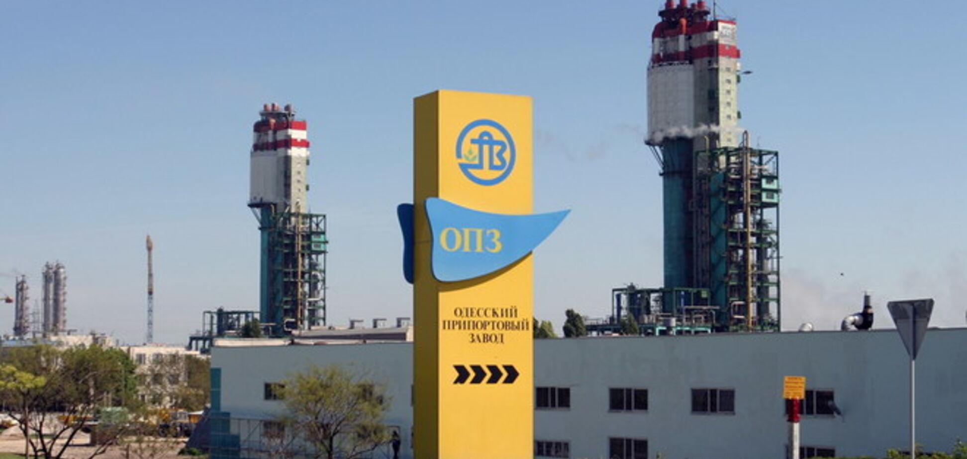Одесский припортовый завод отказался от газа Фирташа
