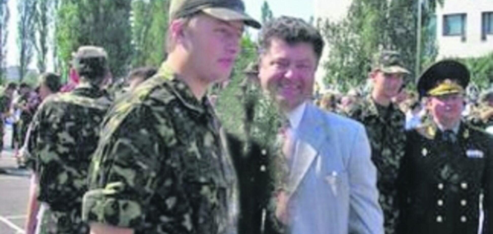 Син Порошенка воює на Донбасі під чужим прізвищем