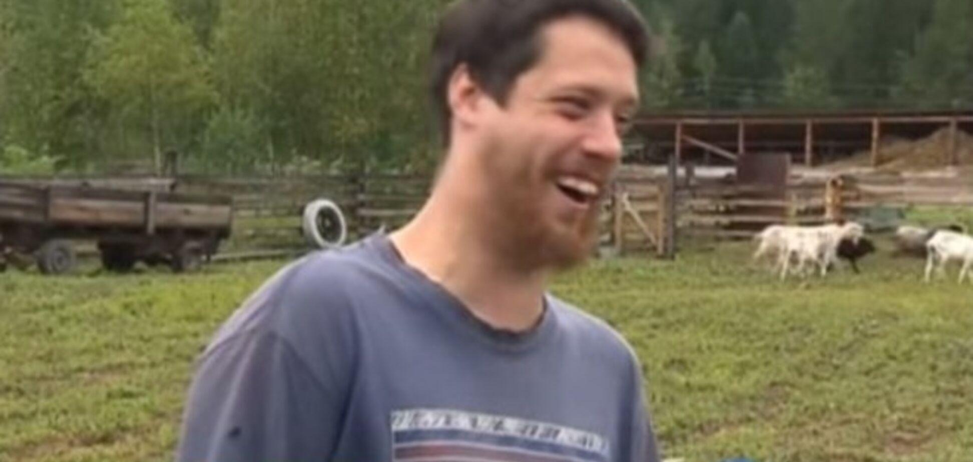Російський 'веселий молочник' підірвав мережу своїм сміхом через італійський сир