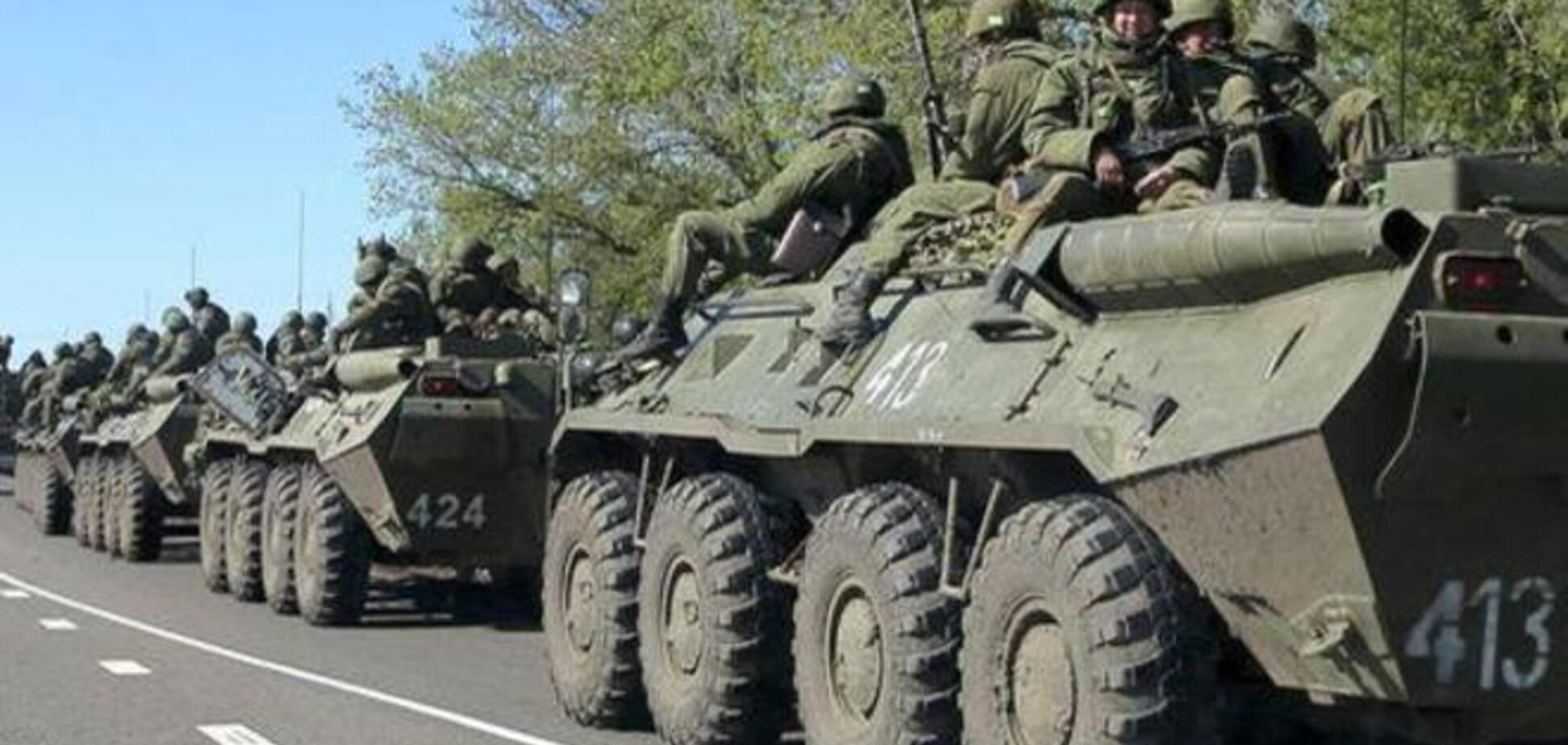 Российская бронетехника вторглась в Украину: идут бои возле Новоазовска
