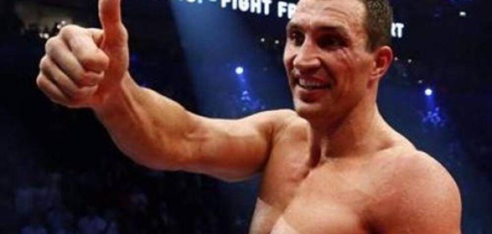 Володимир Кличко: я ні від кого не бігаю!